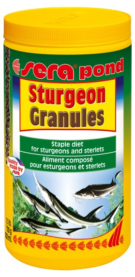 sera pond Sturgeon Granules 1000ml