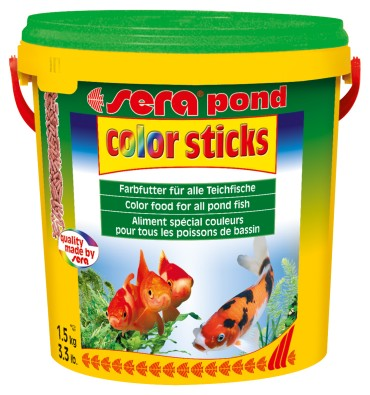 sera pond color sticks 10L