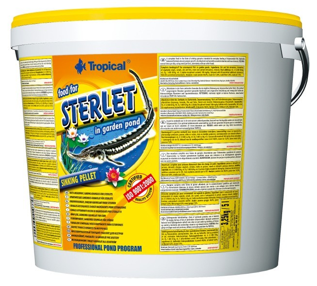Tropical Food for Sterlet 5L / 3,25kg