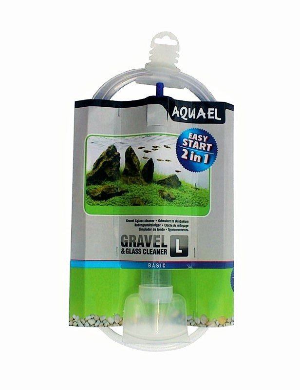 Aquael Gravel & Glass Cleaner L