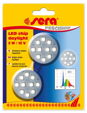 "sera LED SMD čipy ""day light"" 2W/12V"