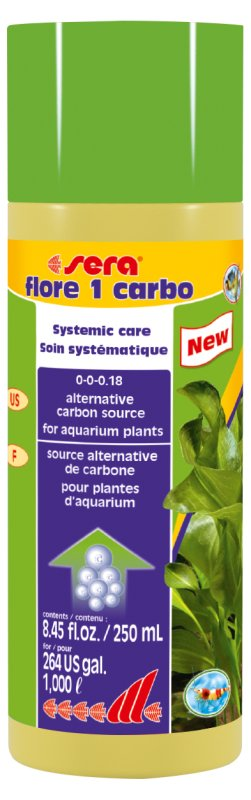sera flore 1 carbo 250ml / 1000L