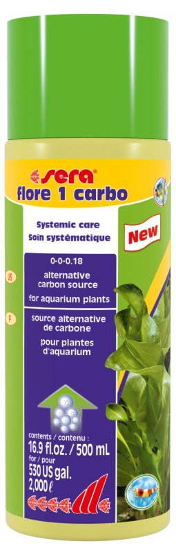 sera flore 1 carbo 500ml / 1000L