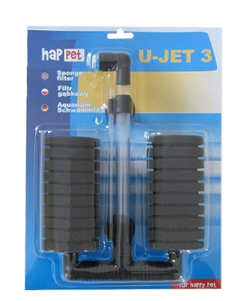 HAPPET molitanový filter U-JET 3