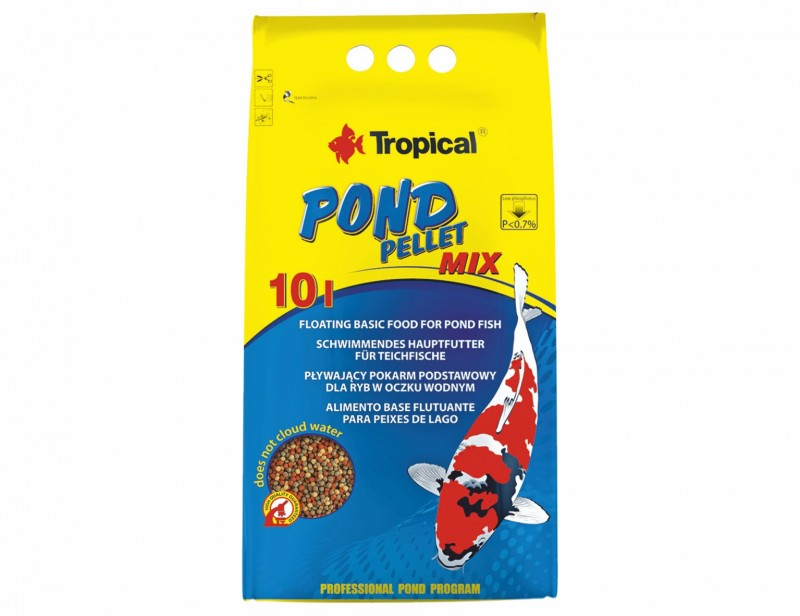 Tropical Pond Pellet Mix S 10L/1300g