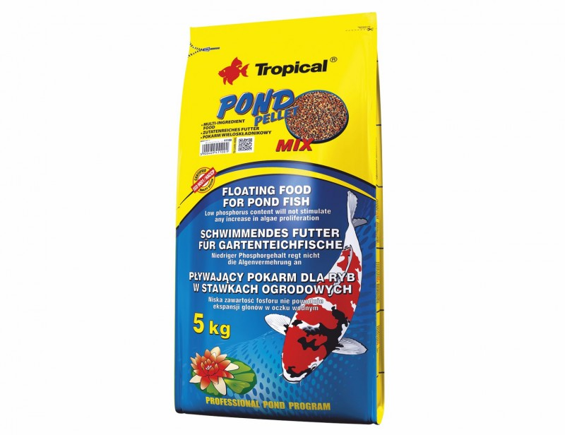 Tropical Pond Pellet Mix S 5kg