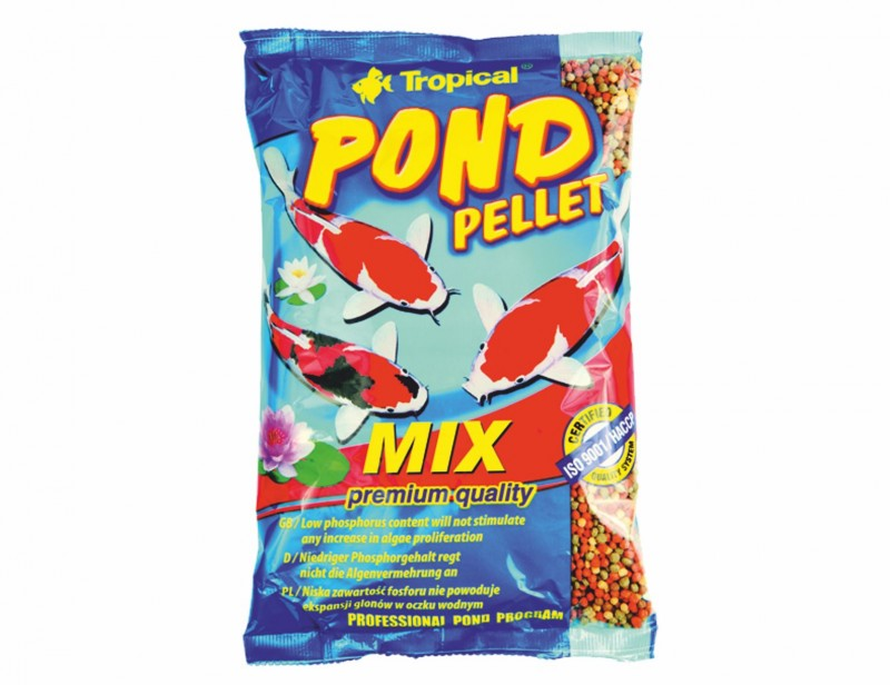 Tropical Pond Pellet Mix M 1L/110g