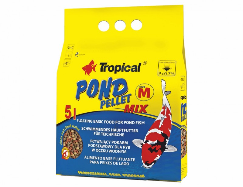 Tropical Pond Pellet Mix M 5L/550g