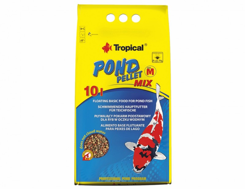 Tropical Pond Pellet Mix M 10L/1100g