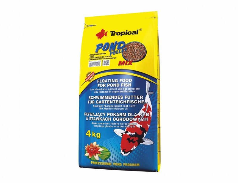 Tropical Pond Pellet Mix M 4kg