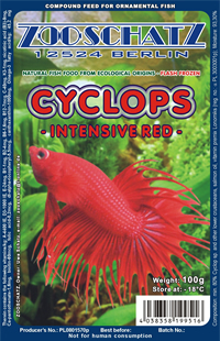 Cyklop intensive red 100g