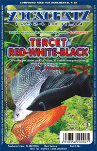 TERCET RED-WHITE-BLACK 100g