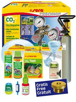 sera flore CO2 fertilization system