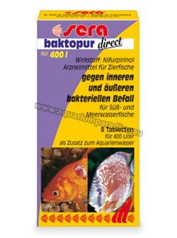 sera baktopur direct 8 tabl. / 400L