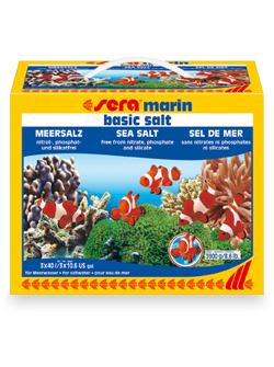 sera marin basic salt 3900g / 120L